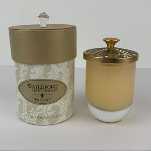 Vintage Waterford Brilliant Fine Candle
